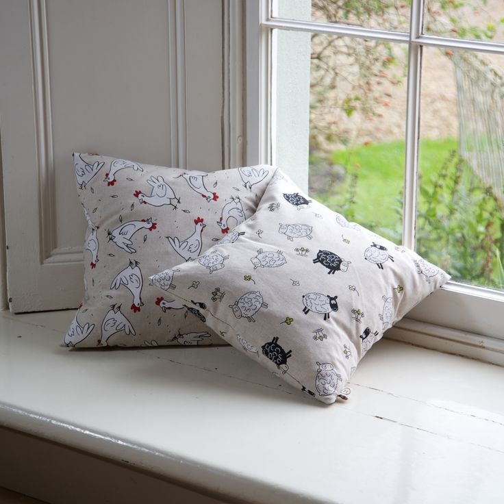 Handmade Cushion with Animal Print #gifts #cushions #handmade #madeinbritain