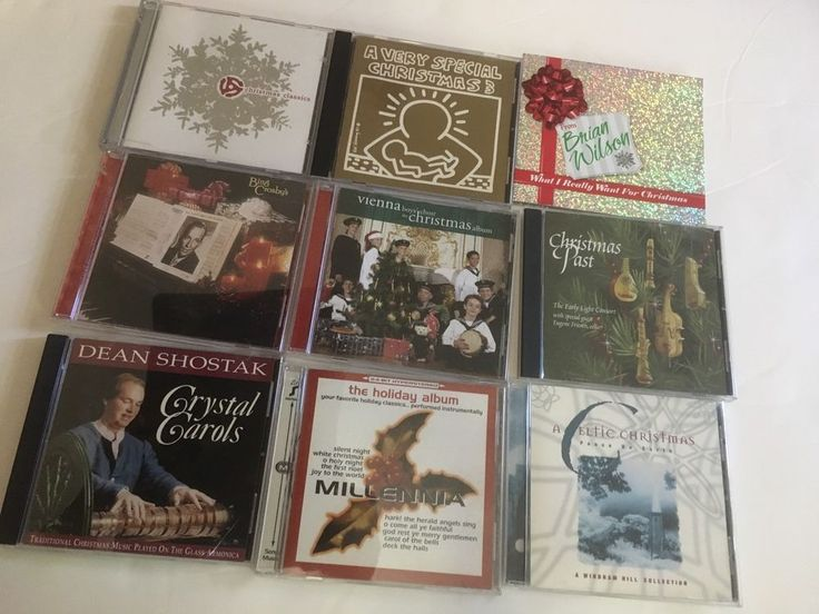 Christmas Carols Song Music CD Used Great Condition Set of 9 #Christmas