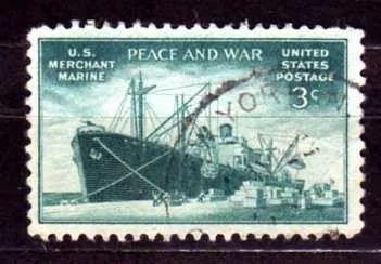 usa 1946 * marinha mercante * navio cargueiro