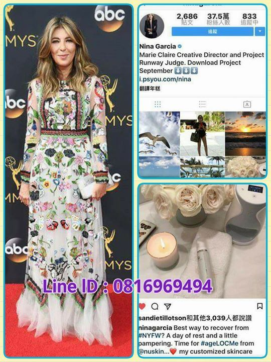 ageLoc me ดมย?    Another amazing mention for ageLOC Me!   Nina Garcia the Creative Director for Marie Claire and Project Runway Judge shares why she loves her ageLOC Me.  อกเรองทนาตนตาตนใจสำหรบ ageloc ม  นนาการเซย บรรณาธการสรางสรรคนตยสาร แมรแคลรและ project runway ตดสน แชรทำไมเธอถงรกเธอ ageloc me  Line  lD : 0816969494 (081)6969494