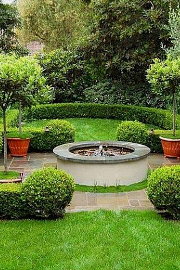 35 Amazing Outdoor Garden Water Fountains Ideas Landscape Design Backyard Landscaping Patio Landscape Design
