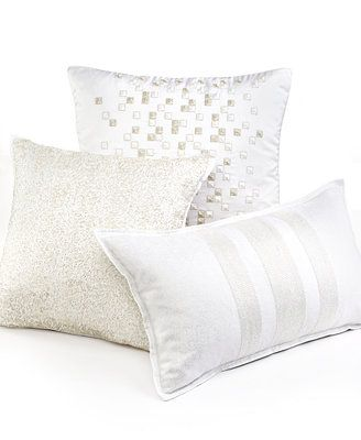Hotel Collection Frame White 20 Quot Square Decorative Pillow