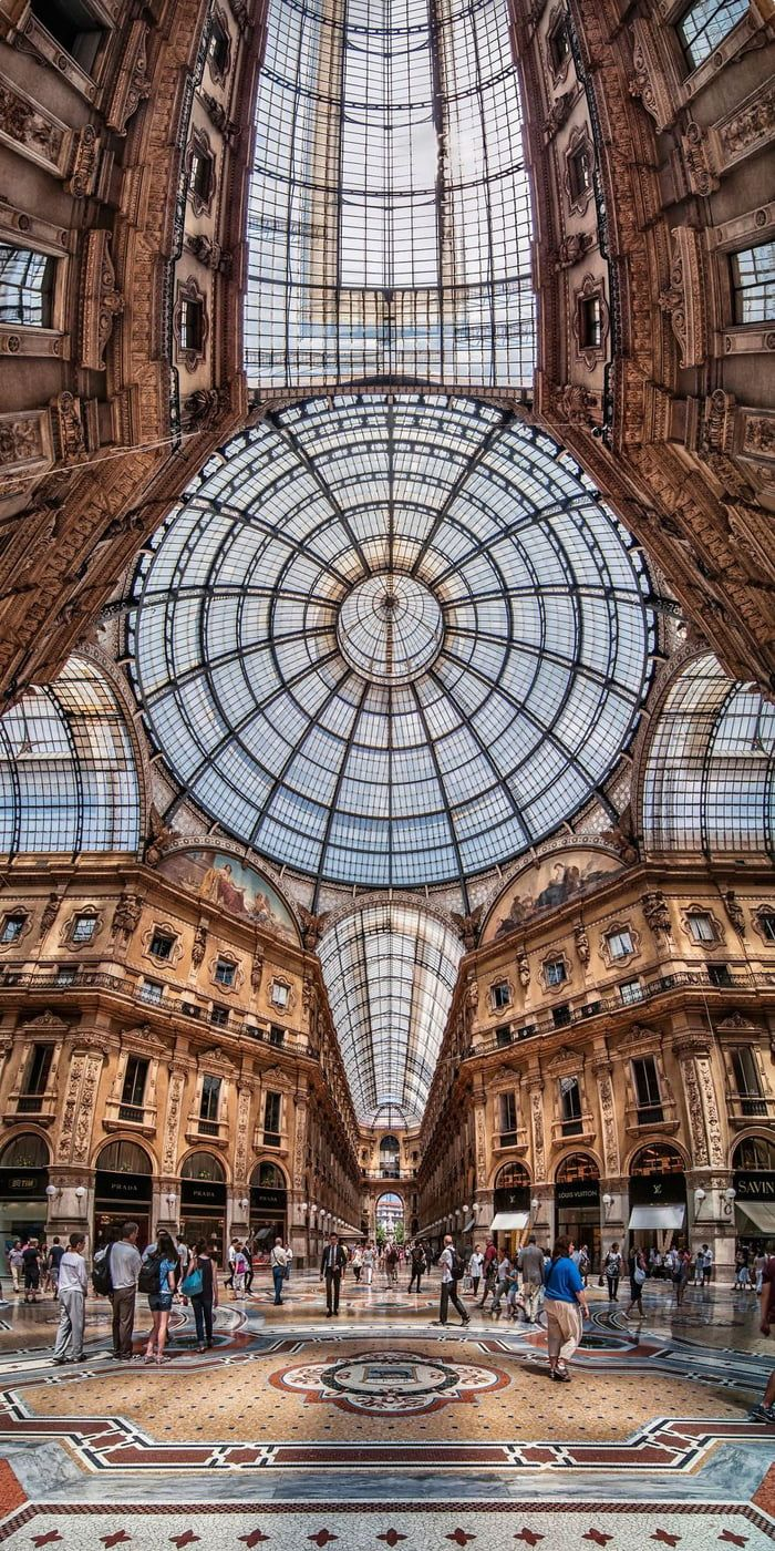 Galeria Vittorio Emanuele – Milão, Itália   – Region d'Italia / Rom – I ♡ Italy ( 1 )