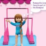 Doll Play Day 67 Make Gymnastics Uneven Bars