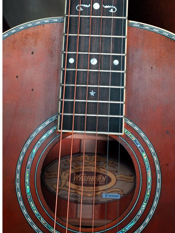 Washburn R314KK Parlor Review and photo's - The Acoustic Guitar Forum