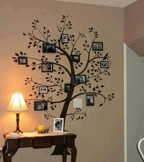 Family tree with second marriage