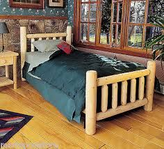 1000 ideas about log bed frame on pinterest log bed diy bed frame and farmhouse bed