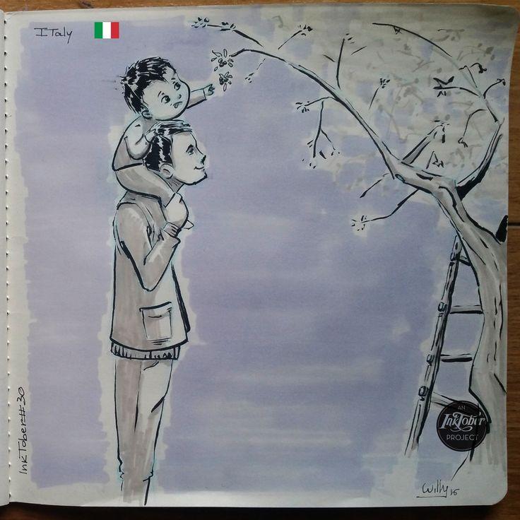 InkTober2016 - #30, Giacomo Esposito Vivino on ArtStation at https://www.artstation.com/artwork/0ZNzy
