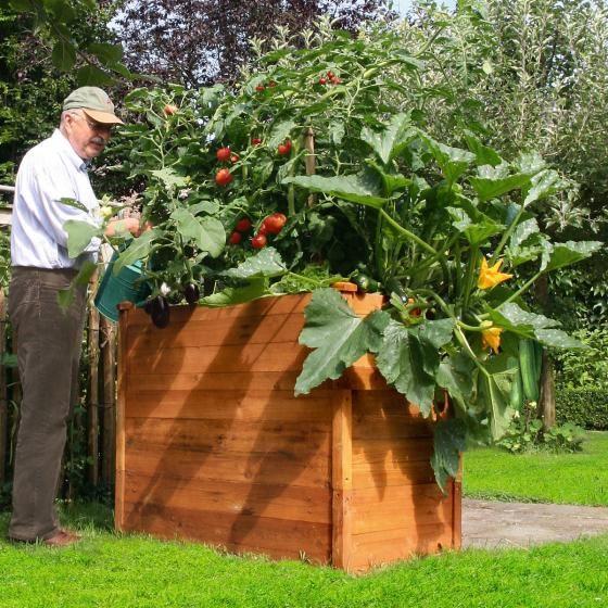 Hochbeet Klassik 3er Set Akazienholz Stapelbar Online Kaufen Bei Gartner Potschke Hochbeet Gartenbedarf Garten