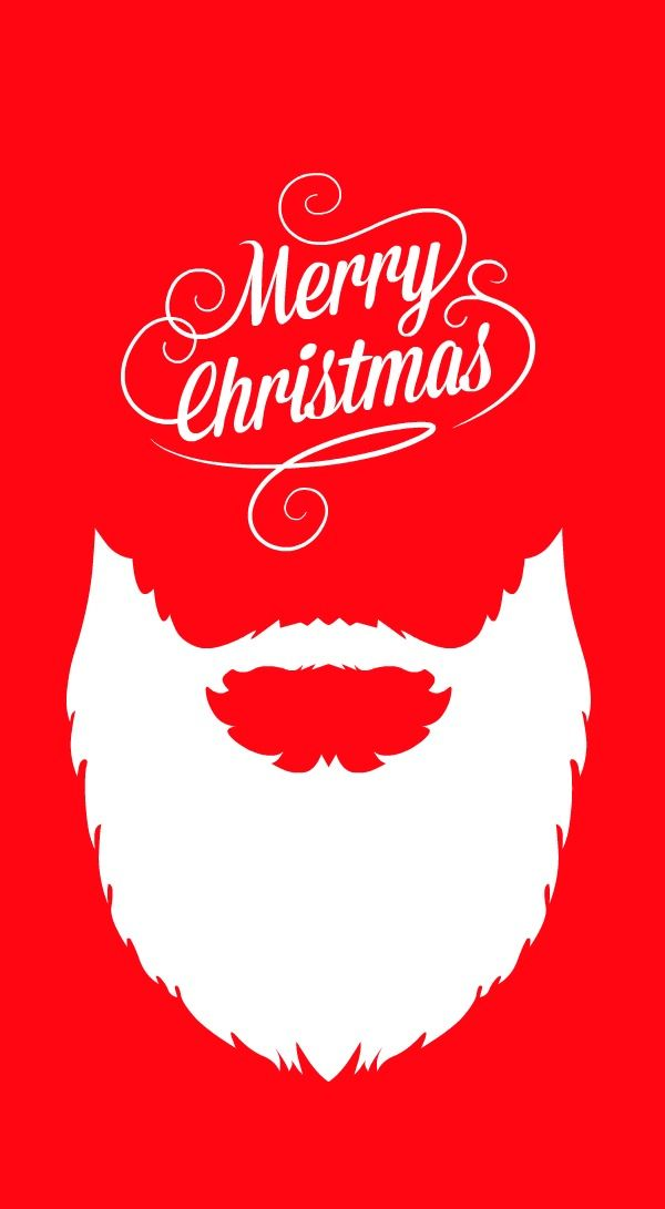 red, white, typography, illustration, art, poster, christmas,
