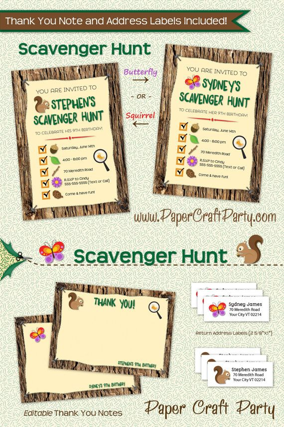 26 best Scavenger hunt party images on Pinterest | Owls, Barn owls ...