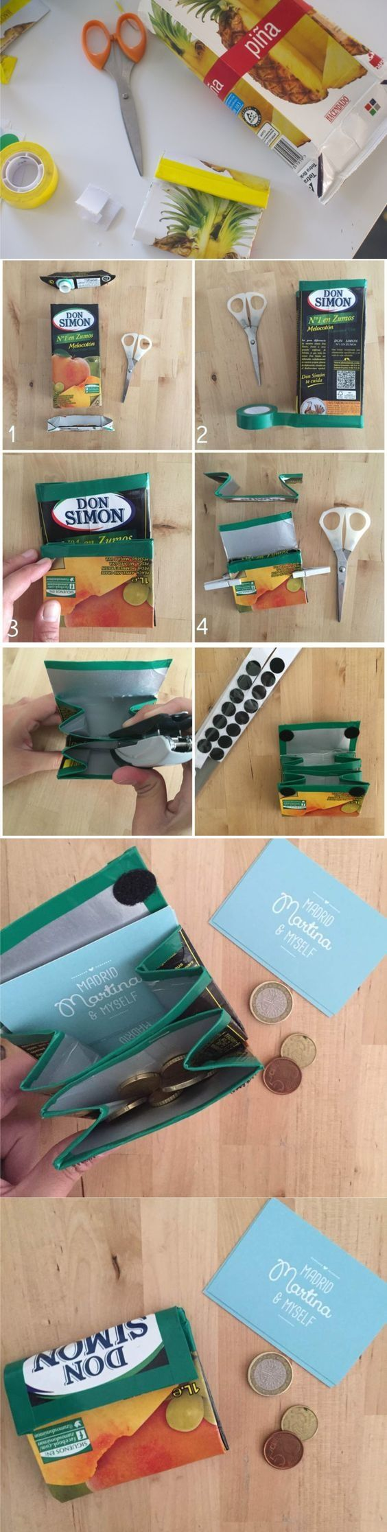 monedero reciclado