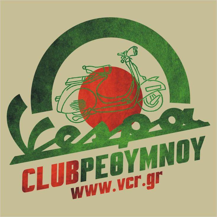 "#VespaClubVolos #logo Επίσης παράξενο σήμα! Δεν έχει τα μικρά τετραγωνάκια περιφερειακά του κύκλου, ο κύκλος δεν είναι ολόκληρος αλλά είναι ημικύκλιο, είναι η μόνη λέσχη που έχει μισή Αγγλική γραφή και μισή Ελληνική, διότι το Vespa Club το γράφουν με Αγγλικά, αλλά το ""Ρέθυμνο""το γράφουν με Ελληνικά. Τέλος είναι η μόνη λέσχη που έστησε το σήμα της με γνώμονα το διαδίκτυο, διότι είναι οι μόνοι που αναφέρουν και την διεύθηνση της ιστοσελίδας τους! ΕΥΓΕ! Προσωπικά το θεωρώ το ΚΑΛΥΤΕΡΟ!"
