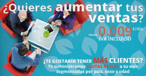 TE REGALAMOS UNA CAMPAÑA GRATUITA DE 500 VISITAS DE 12 SEGUNDOS, PRUEBA NUESTRO SISTEMA!!!!