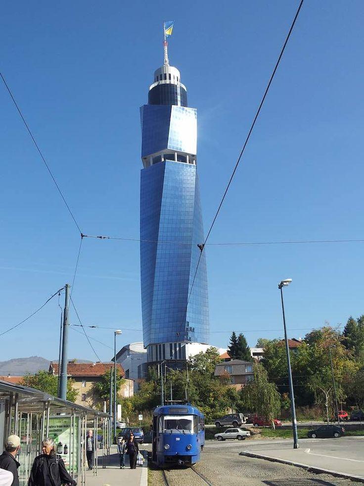 Sarajevo, Bosnia and Herzegovina - Avaz Twist Tower