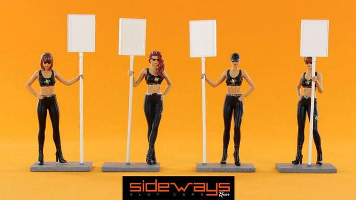 Racer Sideways - Grid Girls - Sideways by Racer - Grid Girls Slotracing