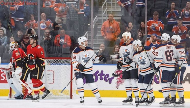 Oilers win split-squad games against Flames