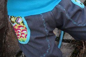 Softshellové kalhoty s kapsama i bez + nažehlovací obrázky (fotonávod + střih) | Ekozahrada - Blog Petry Macháčkové / Caramilla