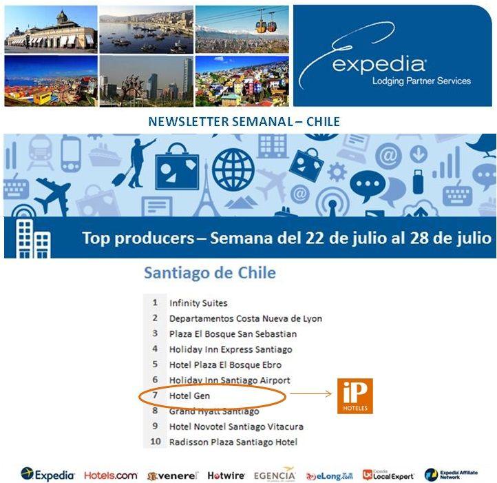iP Hoteles - Expedia - Semana del 22 de julio al 28 de julio de 2013 - Hotel Gen