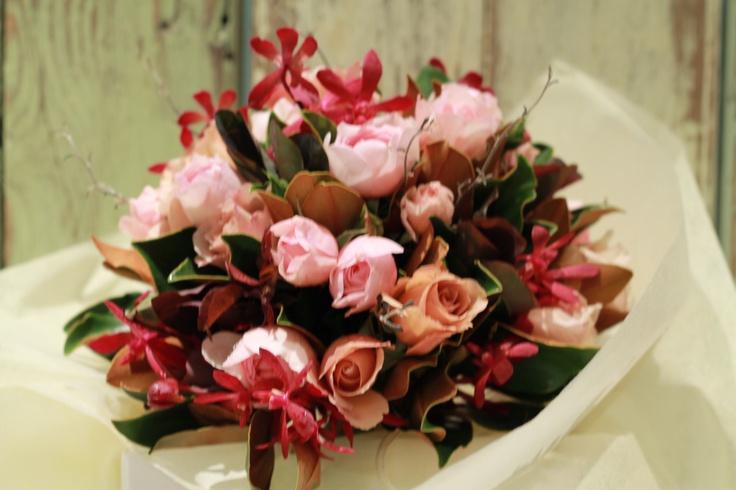 Jo's Bridesmaids' bouquets