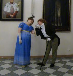 """Z dżentelmenem """"hrabią"""" Anią ;)"""