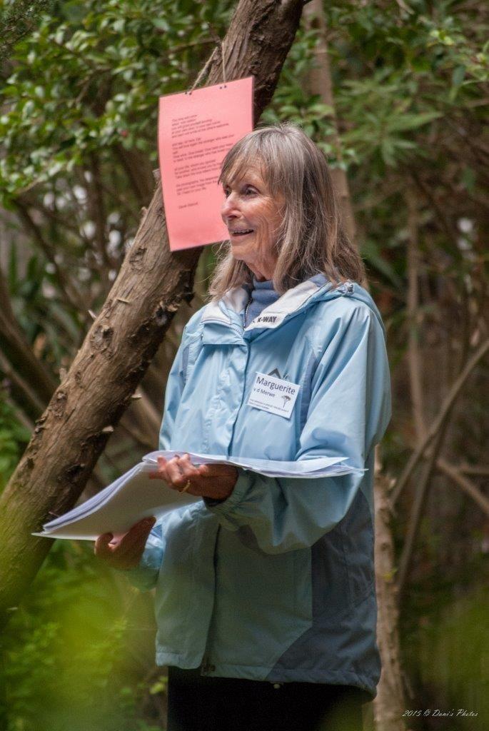 Dani's Photos: Event No 56 Poetry Walks The Garden Of The Beloved with Marguerite van der Merwe at Caritas Garden