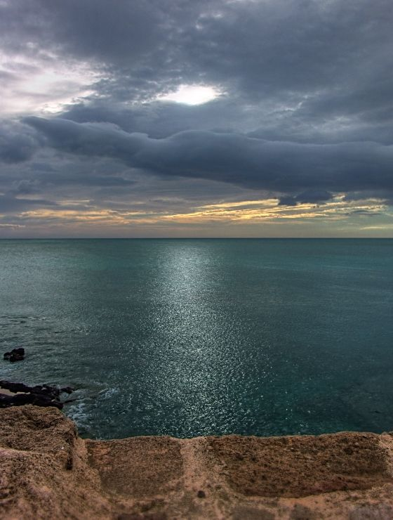 Bad weather day in Sardinia - Alghero