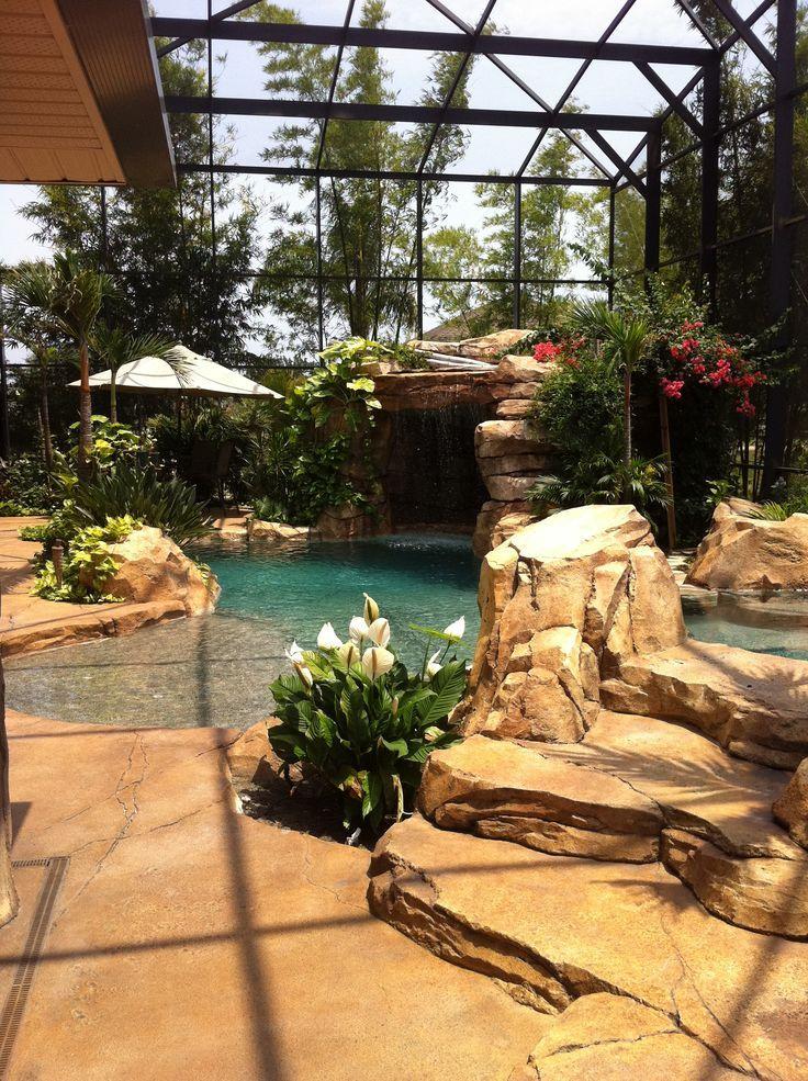 133 best Tropical Pools images on Pinterest | Backyard ...