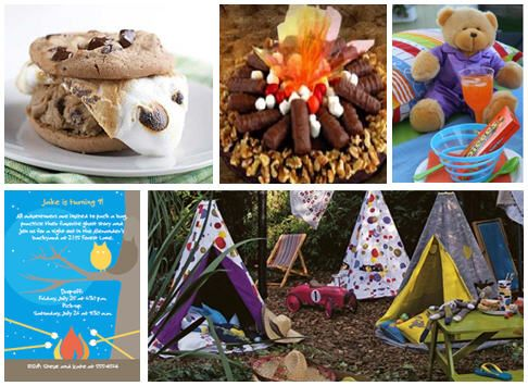 85 Best Party Ideas Camping Slumber Theme Images On