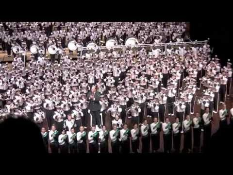 SMB Spartan Spectacular - Shadows and MSU Fight Song