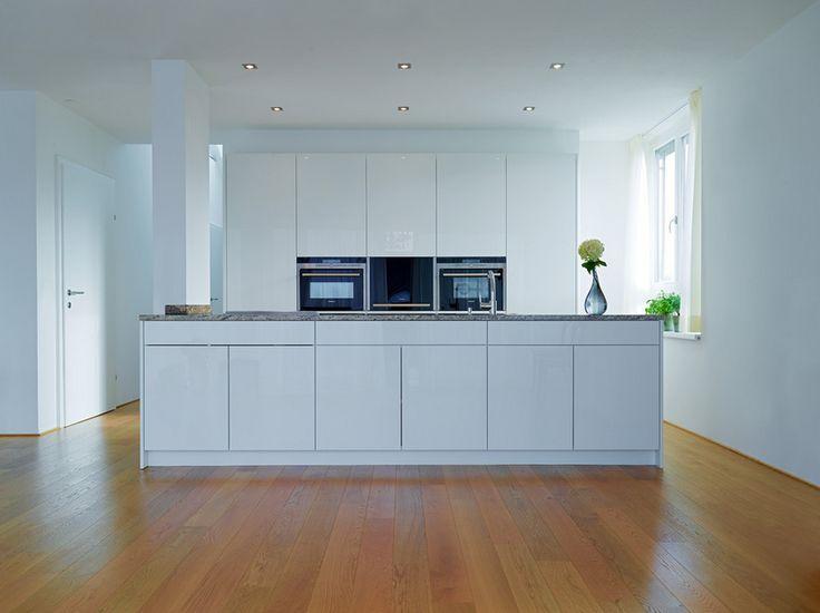 98 best Küche images on Pinterest Kitchen ideas, Kitchen modern - weiße küche welche arbeitsplatte