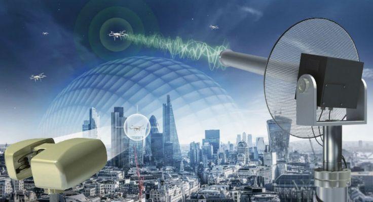 UK defense firm Selex ES on Tuesday unveiled an electromagnetic shield designed to defeat commercial drones.  Read more: http://sputniknews.com/science/20150916/1027051586/drone-shield-selex-uav-dsei.html#ixzz3lvK68xWb
