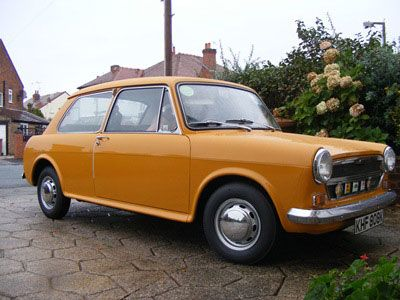 This is an Austin 1300. Made in the UK, it was quite popular in it's day.