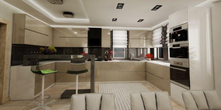 design interior bucatarie, design mobilier bucatarie, design interioare bucatarii, design bucatarii exclusiviste cluj - firma dizen