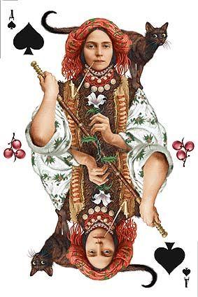 Vladislav Erko, Ukrainian artist, created this amazing set of playing cards.