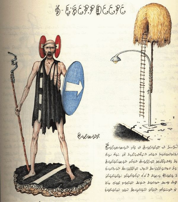 Dos libros raros: Manuscrito Voynich y Codex Seraphinianus