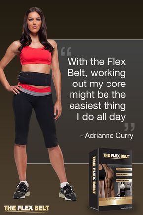 Get strong, toned abs in just weeks with the Flex Belt���the first ab belt toning system cleared by the FDA for toning, firming and strengthening the stomach muscles. Just slip on the comfortable toning belt for an effective abdominal workout that targets all the muscles in your abdomen. Get yours today.