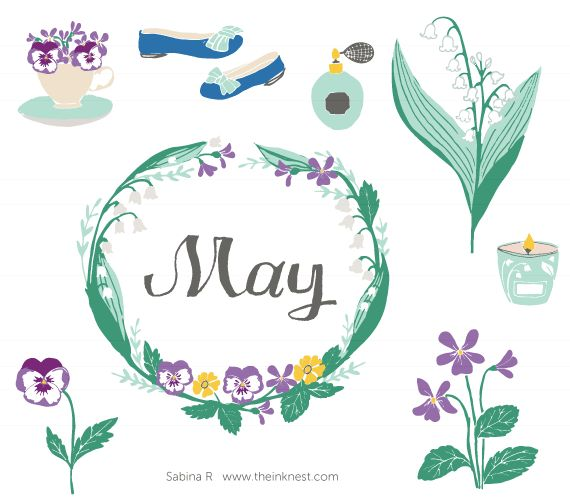 May clip art