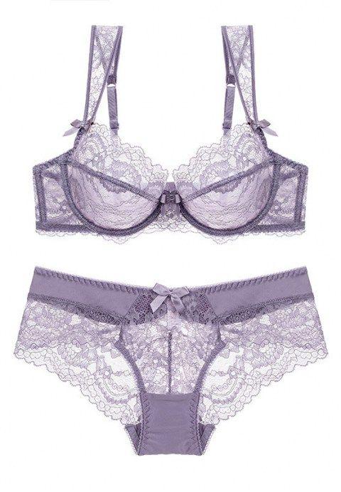 32decd1d0b8 Tansy Storm Night Bra Set | Women's fashion | Bra lingerie, Plus ...