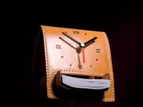 Reloj de escritorio - Bloc de Notas