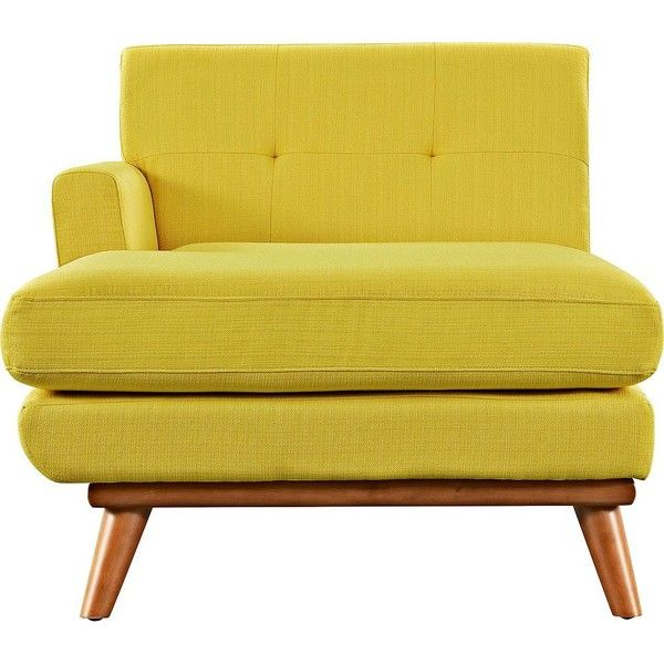 Yellow Swivel Accent Chair
