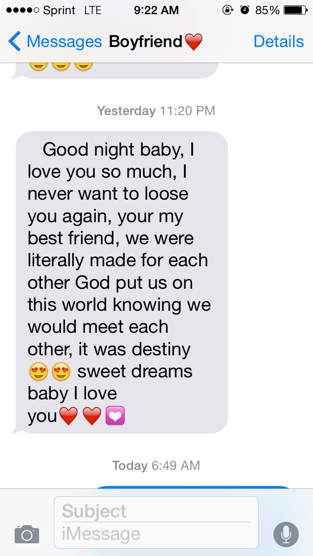 15 best Cute texts from him ! images on Pinterest