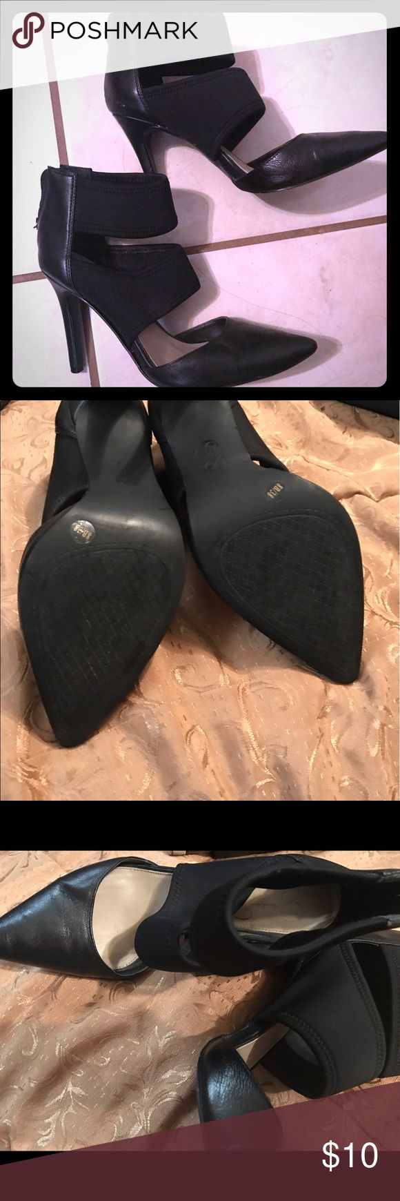 💋⚡️JESSICA SIMPSON HEELS🔥❤ These jessica simpson heels have been worn several times, super comfortable and still have lots of life to them remaining i wore them with dresses,jeans you name it:) Jessica Simpson Shoes Heels