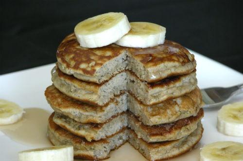 Grain Free Banana Pancakes (High Protein) @Amanda Hadfield. I'm just ...