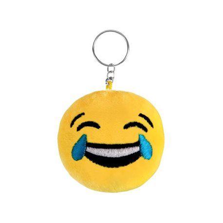 Porte clefs emoji smiley  pleure de rire 4,5 cm