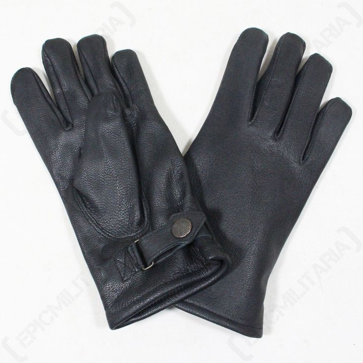 German army #lined leather gloves - #military combat #black #lined airsoft paintba,  View more on the LINK: http://www.zeppy.io/product/gb/2/182373051848/