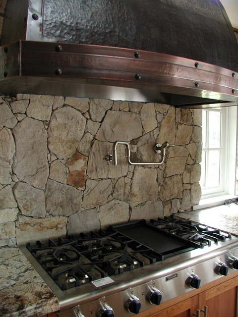 natural stone backsplash kitchen fieldstone backsplash kitchens and baths 3452
