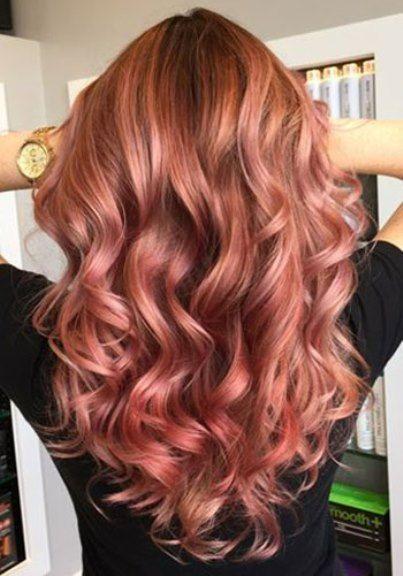20 Inspiring Winter Hair Colors Warm Hair Colors Pastel Hair