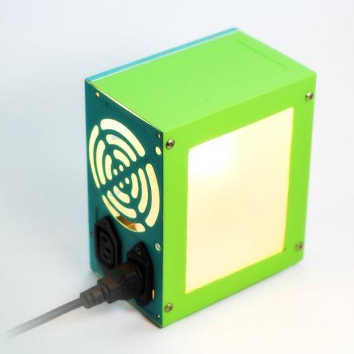 Computer power source glow in the dark interior lamp   tablo.ro