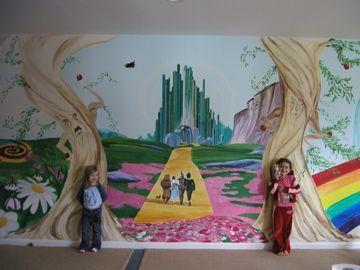 Wizard Of Oz Wall Murals | Wizard Of Oz, Detail